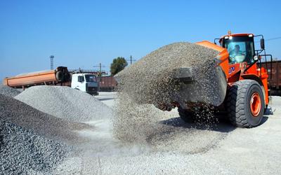 Просмотр объявления Доставка песка, щебня, грунта по СПб и Лен.области